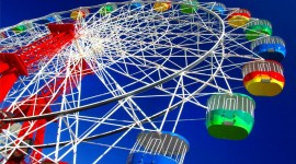 4K Ferris Wheel Wallpaper 1080p