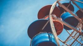 4K Ferris Wheel Wallpaper Download