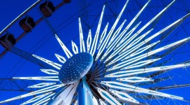 4K Ferris Wheel Wallpaper For IPhone