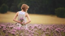 4K Flowers Field Wallpaper Download