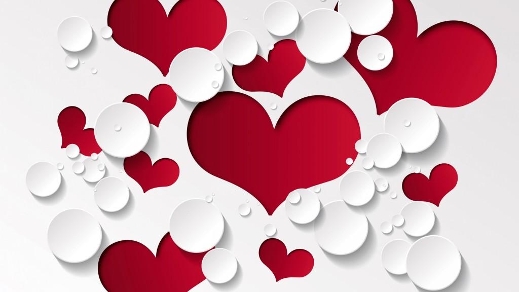 4K Heart Pattern wallpapers HD