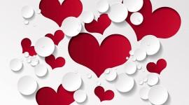 4K Heart Pattern Best Wallpaper