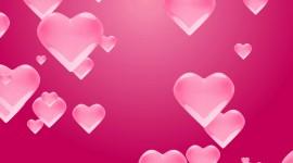 4K Heart Pattern Desktop Wallpaper