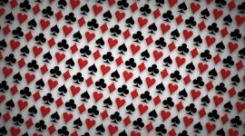 4K Heart Pattern Desktop Wallpaper HD