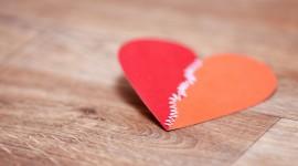 4K Heart Pattern Photo Download