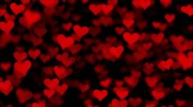4K Heart Pattern Wallpaper Free