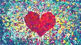 4K Heart Pattern Wallpaper Gallery