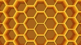 4K Honeycomb Wallpaper For Mobile