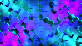 4K Honeycomb Wallpaper For PC