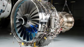 4K Jet Engine Desktop Wallpaper HD