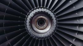 4K Jet Engine Photo