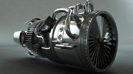4K Jet Engine Photo Free