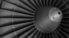4K Jet Engine Wallpaper Free