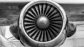 4K Jet Engine Wallpaper HQ