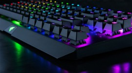 4K Keyboard Backlight Aircraft Picture