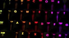 4K Keyboard Backlight Desktop Wallpaper HD