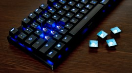 4K Keyboard Backlight Photo
