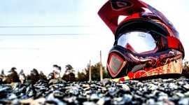 4K Motorcycle Helmet Photo