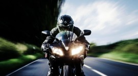 4K Motorcycle Helmet Wallpaper Background