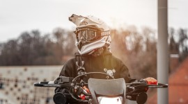4K Motorcycle Helmet Wallpaper Download