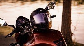 4K Motorcycle Helmet Wallpaper For PC