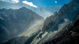 4K Mount Nepal Photo Free