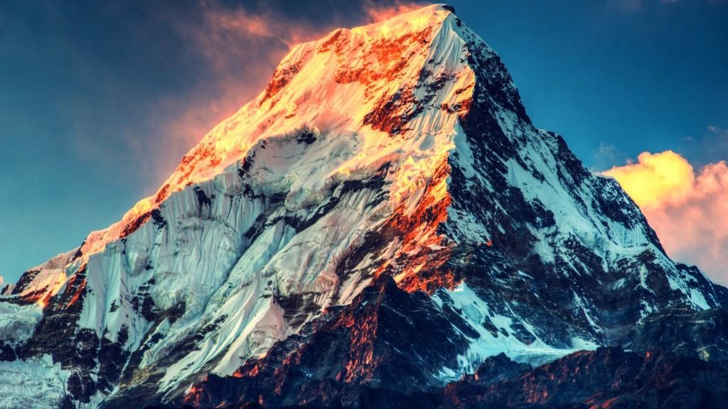 4K Mount Nepal wallpapers HD