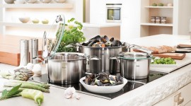 4K Pots And Pans Photo