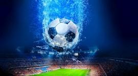 4K Soccer Ball Wallpaper HQ