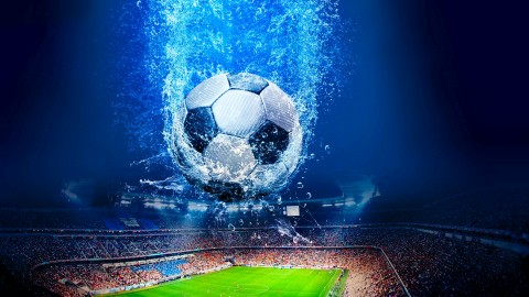 4K Soccer Ball wallpapers high quality