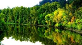 4K Water Norvegia Landscape Image