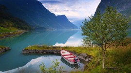 4K Water Norvegia Landscape Photo#3