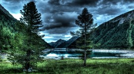 4K Water Norvegia Landscape Wallpaper