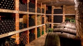 4K Wine Cellar Desktop Wallpaper HD