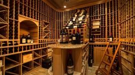 4K Wine Cellar Wallpaper For PC
