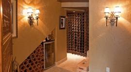 4K Wine Cellar Wallpaper Free