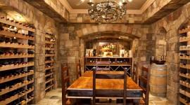 4K Wine Cellar Wallpaper Full HD