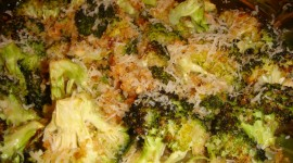 Baked Broccoli Wallpaper Download