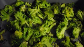Baked Broccoli Wallpaper Full HD