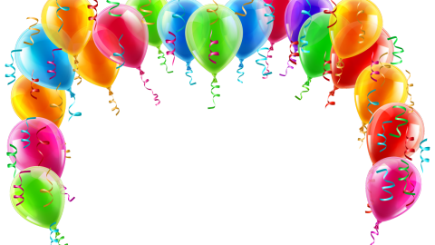 Balloons Frame wallpapers high quality
