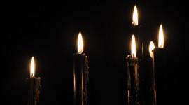 Black Candles High Quality Wallpaper
