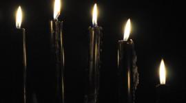 Black Candles Wallpaper