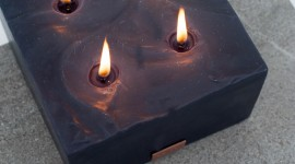 Black Candles Wallpaper For IPhone Download