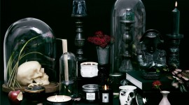 Black Candles Wallpaper Gallery