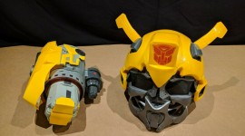 Bumblebee Mask Wallpaper For Desktop