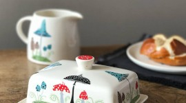 Butter Dish Wallpaper For Mobile