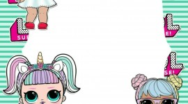 Doll Lol Frame Wallpaper For IPhone