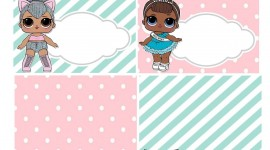Doll Lol Frame Wallpaper For IPhone#1