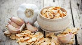 Dried Garlic Wallpaper