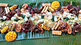Filipino Food Wallpaper Background